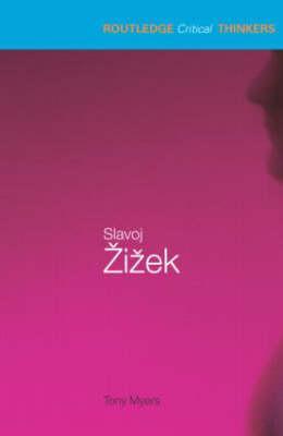 Slavoj Zizek By Myers, Tony